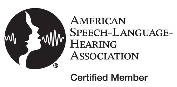ASHA Certified Licensed Speech Therapists
